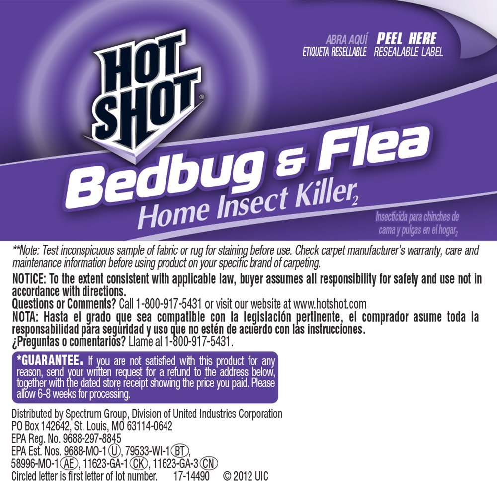Hot Shot Flea Bedbug Killer Walmart