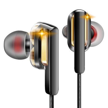 8f0e5b9f5ee QKZ CK3 Double Moving Coil Headset In-ear Sport Earbuds 3.5mm Wired  Headphones Heavy