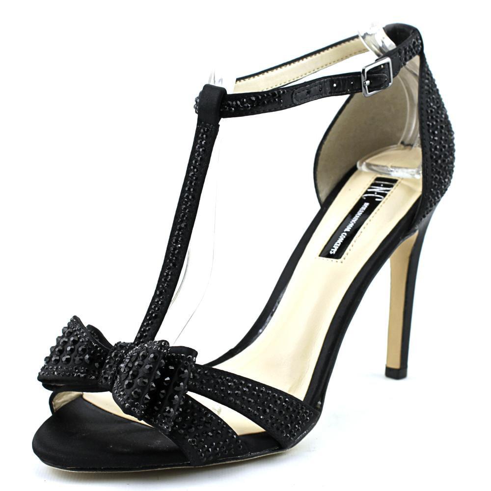 Black sandals at walmart - Inc International Concepts Reesie 2 Women Open Toe Synthetic Black Sandals