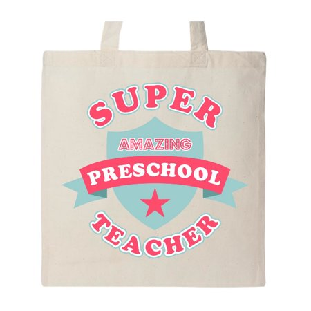 Super Preschool Teacher Tote Bag