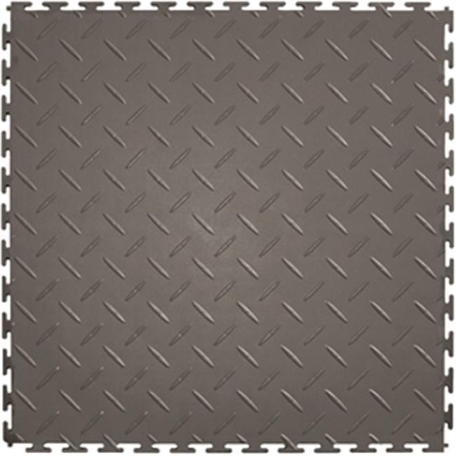 Floor Tile L ITDP450DG45 20.5 x 20.5 in. Flexible Interlocking Vinyl Floor Tile