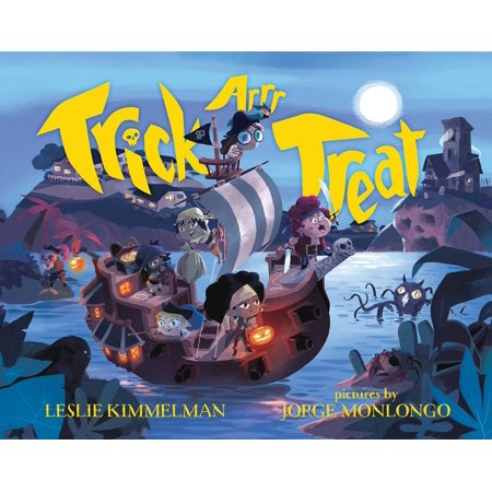 Trick Or Treat Halloween Coloring Pages (Trick ARRR Treat : A Pirate)