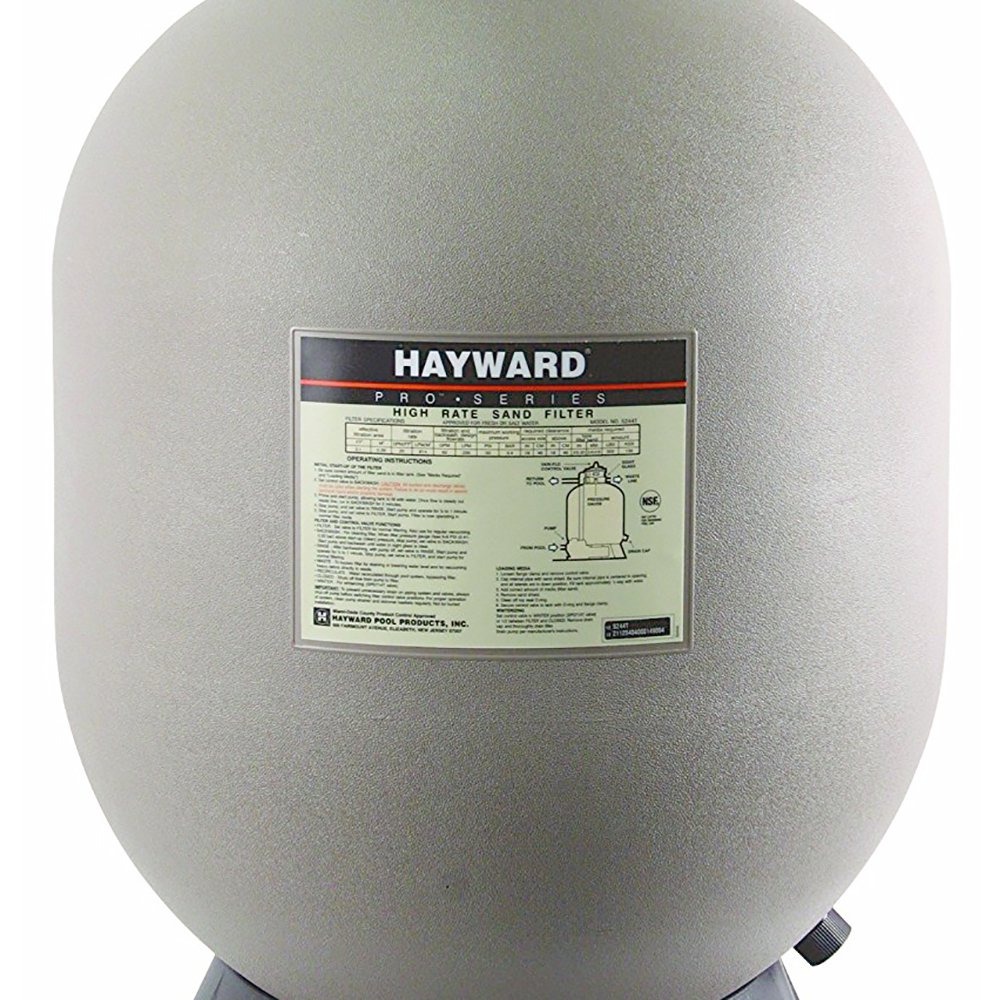 Hayward 30 Inch S310T2 Pro Series Top Mount Sand Filter for Swimming Pools
