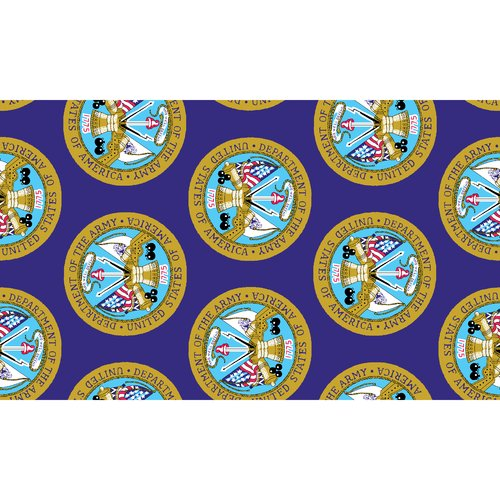 Army All-Over Fabric
