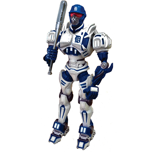 "Foam Fanatics MLB 10"" Team Cleatus Robot Detroit by Foamhead"