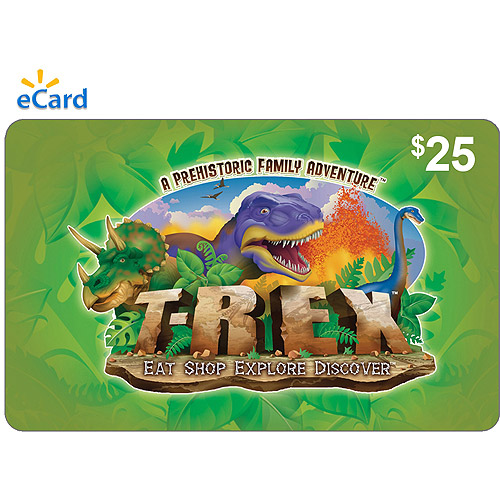 T-REX $25 eGift Card (Email Delivery)