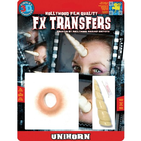 Tinsley Transfer Halloween Costume Makeup Unihorn FX 3D Temporary - Fx Halloween Costumes