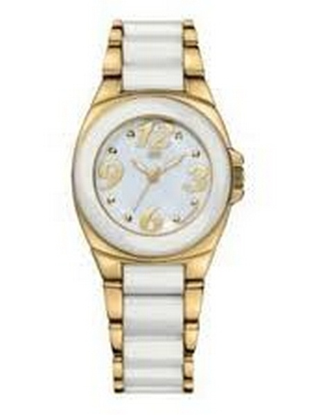 Gold-Tone Ceramic Ladies Watch 1781020