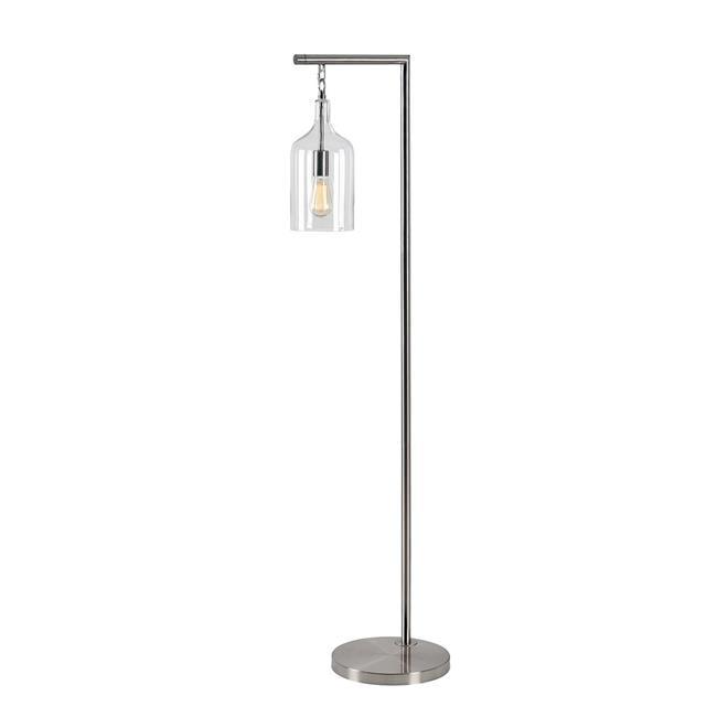 Kenroy Home 33137CLR 1-60W Capri Incandescent Floor Lamp, Clear Glass - image 1 de 1