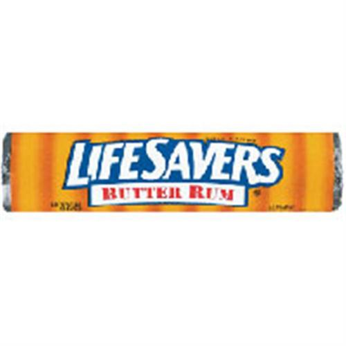 Lifesavers Butter Rum Candy 20 pack (14 ct per pack) (Pack of 2)