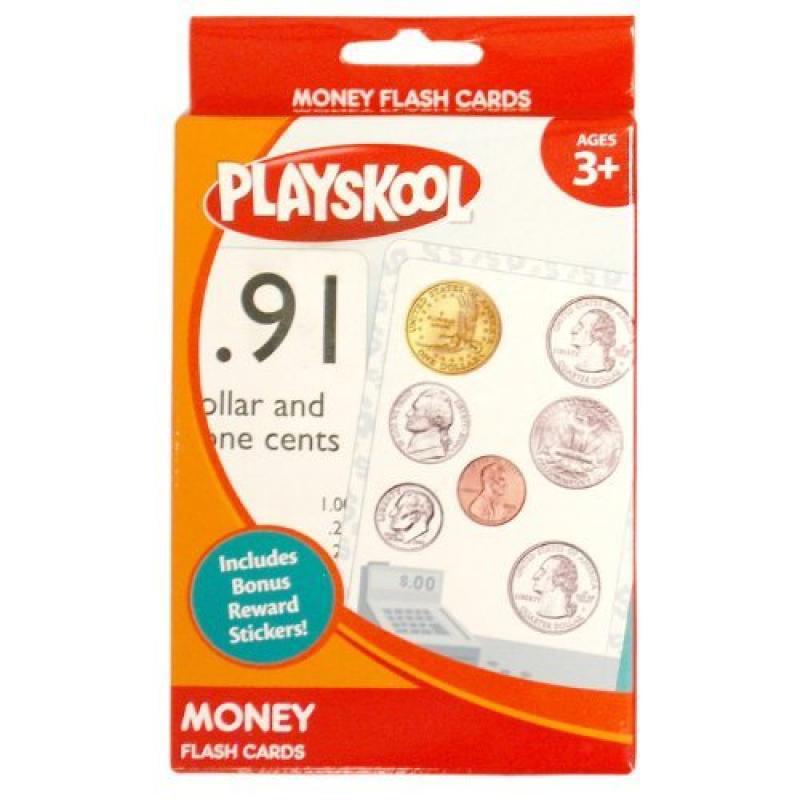 Hasbro Playskool Money Flash Cards by