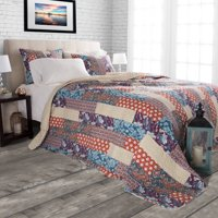 Somerset Home 3pc Cabin and Lodge Santa Fe Quilt Set