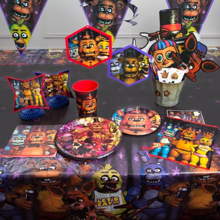 Five Nights At Freddy S Party Supplies Walmart Com