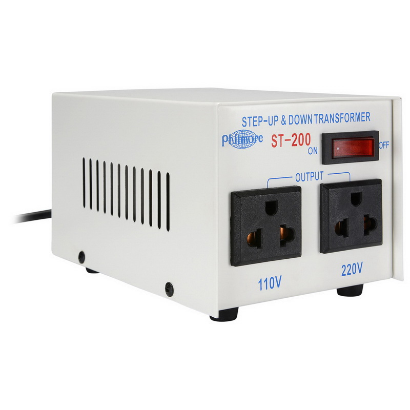 Parts Express 110/220 VAC 200W Foreign Travel AC Voltage ...