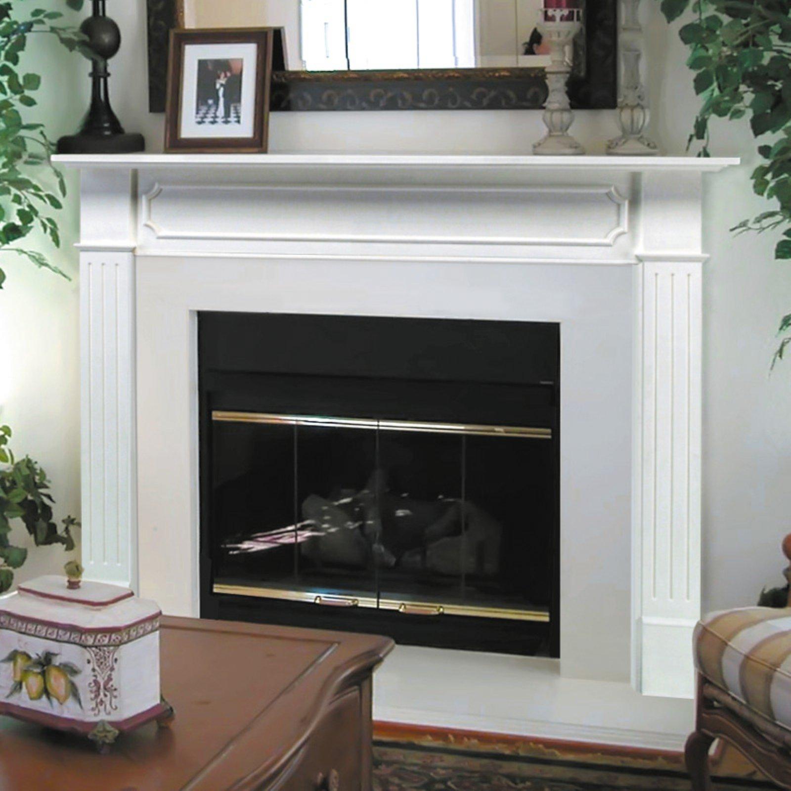 Pearl Mantels Berkley Wood Fireplace Mantel Surround Walmart Com