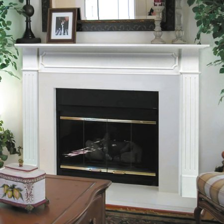Pearl Mantels Berkley Wood Fireplace Mantel Surround (Mantel Decor Ideas)