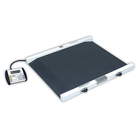 Detecto Detecto Portable Painted Steel Bariatric Wheelchair Scale