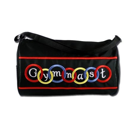 Sassi Designs Gymnastics duffel with bright colored embroidery (Gymnastic Bags)