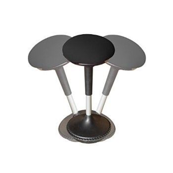 Brilliant Wobble Stool Adjusthle Height Active Sitting Balance Chair For Office Stand Up Desk Best Tall Swivel Ergonomic Sthility Perch Standing Desk Fhric Download Free Architecture Designs Grimeyleaguecom