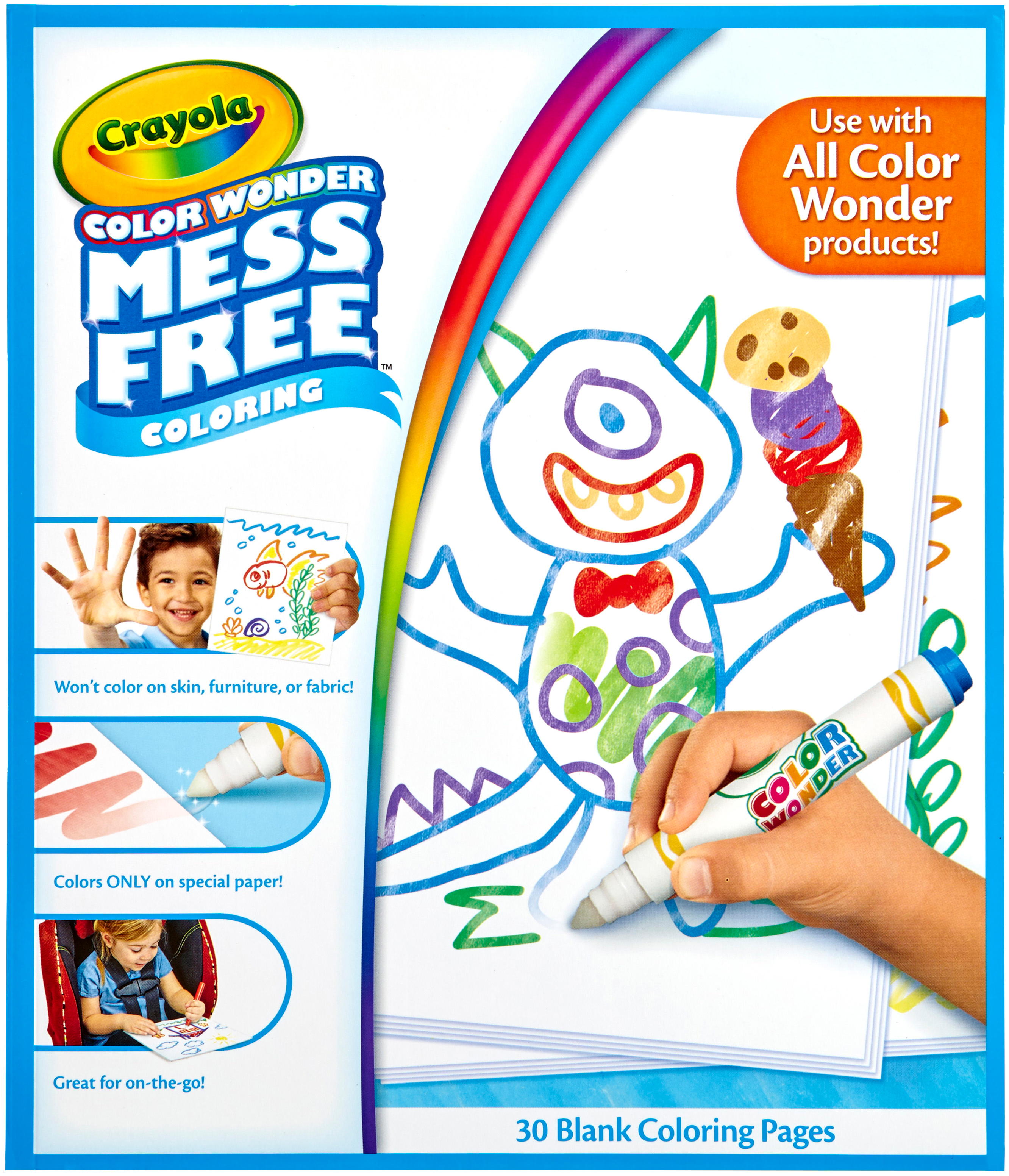 "Crayola Color Wonder Refill Paper 10""X8.5"" 30 Pkg by Crayola"