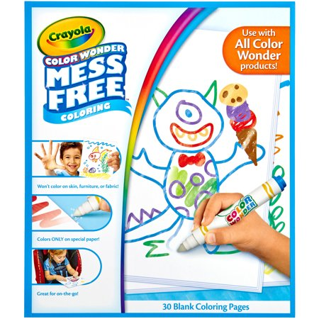 crayola color wonder refill paper 10x85 - Color Wonder Coloring Books