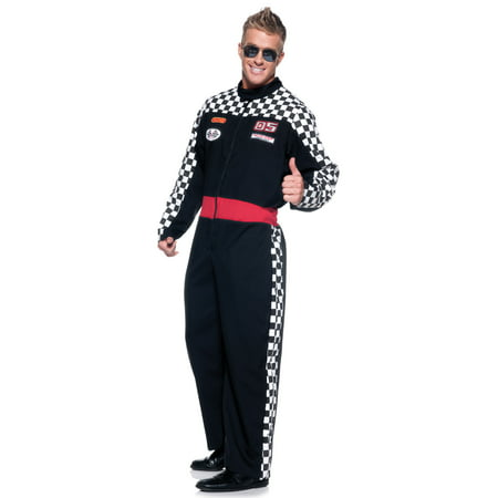 Mens Race Car Driver Costume - Child Race Car Driver Costume