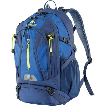 Single Pole Rolling Backpack - Ozark Trail 36L Kachemak Hydration-Compatible Backpack