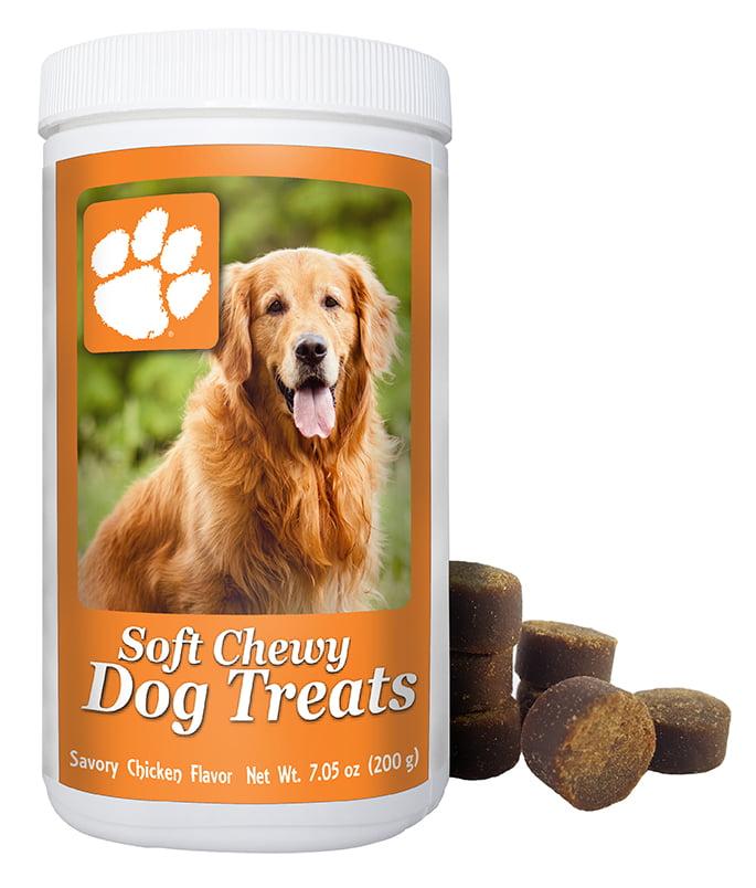 NCAA Clemson Tigers Soft Chewy Dog Treats, 7oz by GameWear, Inc