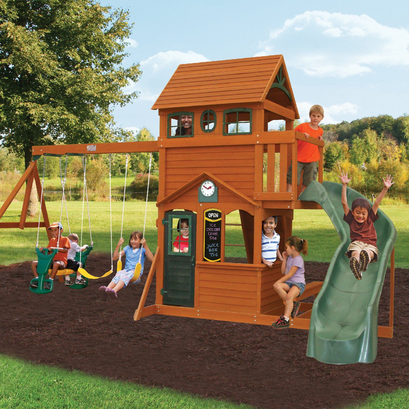Big Backyard Ashberry II Swing Set - Walmart.com - Walmart.com