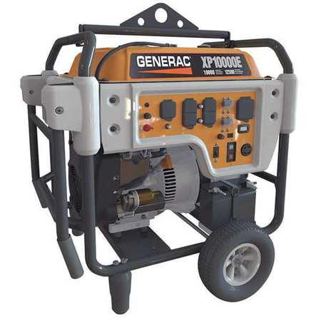 Generac 5932 Xp10000e 10 000 Watt Electric Start Gas Powered