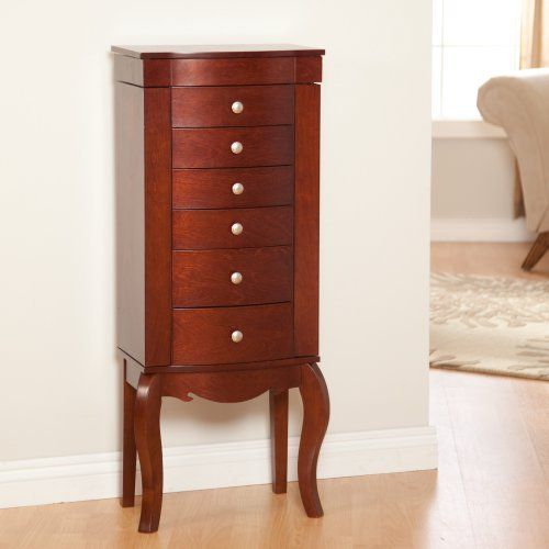 Waterford Jewelry Armoire - Cherry