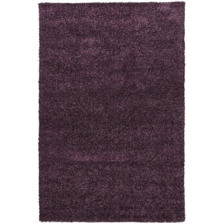 Mebec Collection Hand-woven Contemporary Shag Rug (7