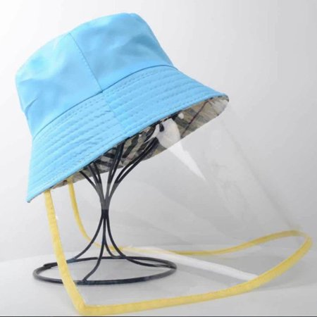 Anti-spitting Protective Hat Anti-dust Anti-fog Fisherman Hats baseball hats - image 1 of 5