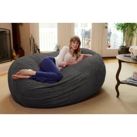Remarkable Chill Sack 6 Ft Large Bean Bag Lounger Multiple Colors Ibusinesslaw Wood Chair Design Ideas Ibusinesslaworg