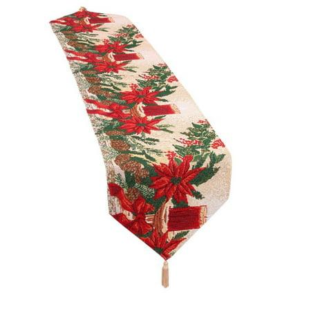 Holiday Christmas Poinsettia Design 13