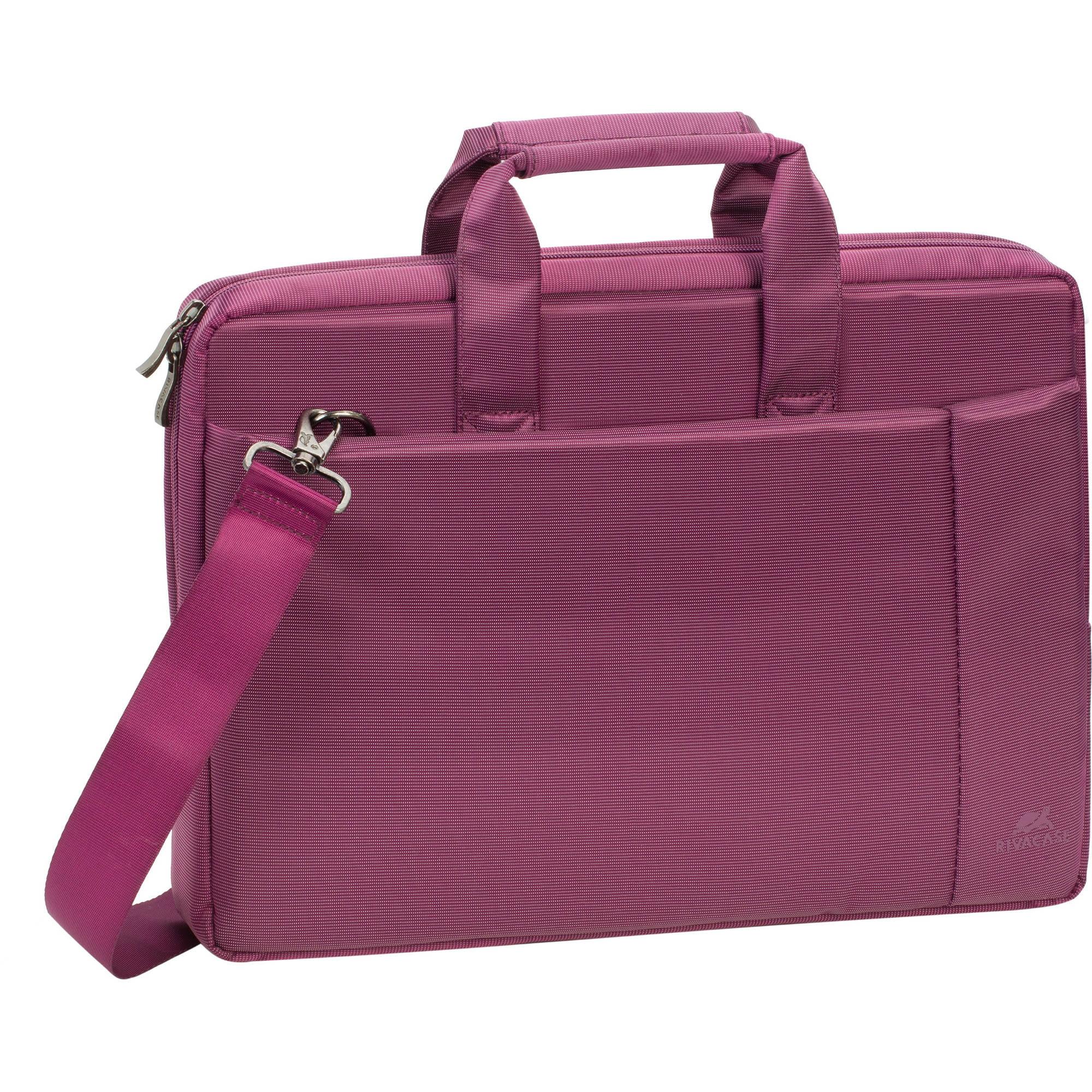 """RIVACASE 13.3"""" Laptop Bag 8221, Purple"""