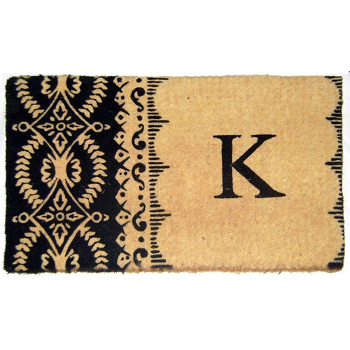 Geo Crafts, Inc Imperial Heirloom Monogrammed Doormat
