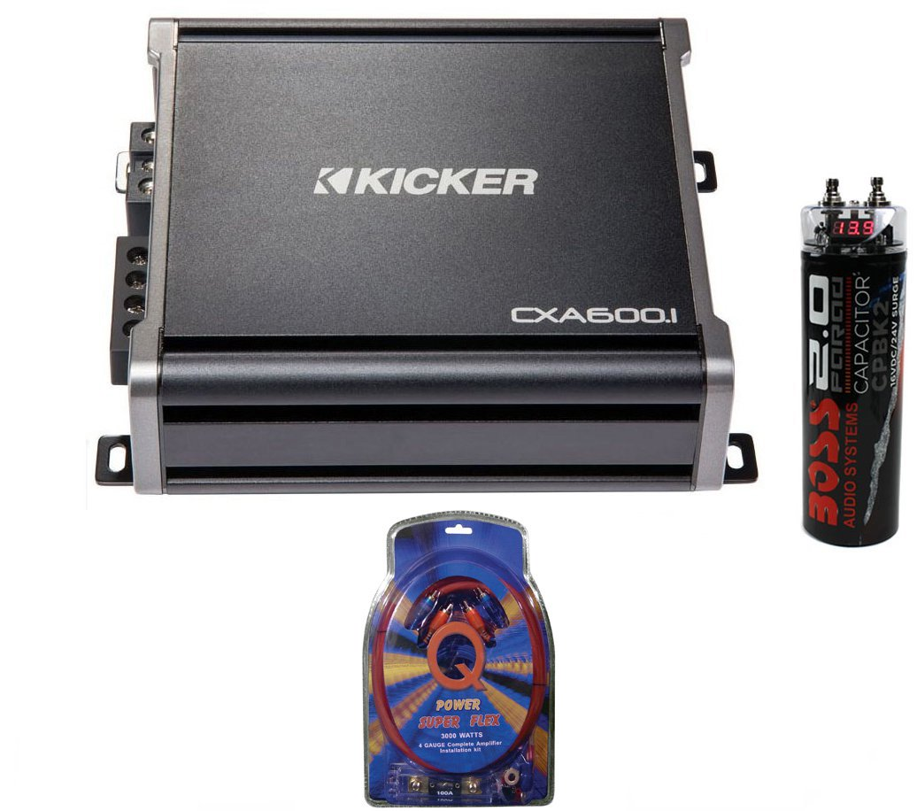 6001 Kicker Amp Wiring Diagrams Data Base Cx600 1 Rh Walmart Com On Mtx For 43cxa6001 600 Watt Rms Monoblock Mono Amplifier Capacitor At Yamaha Cx6001