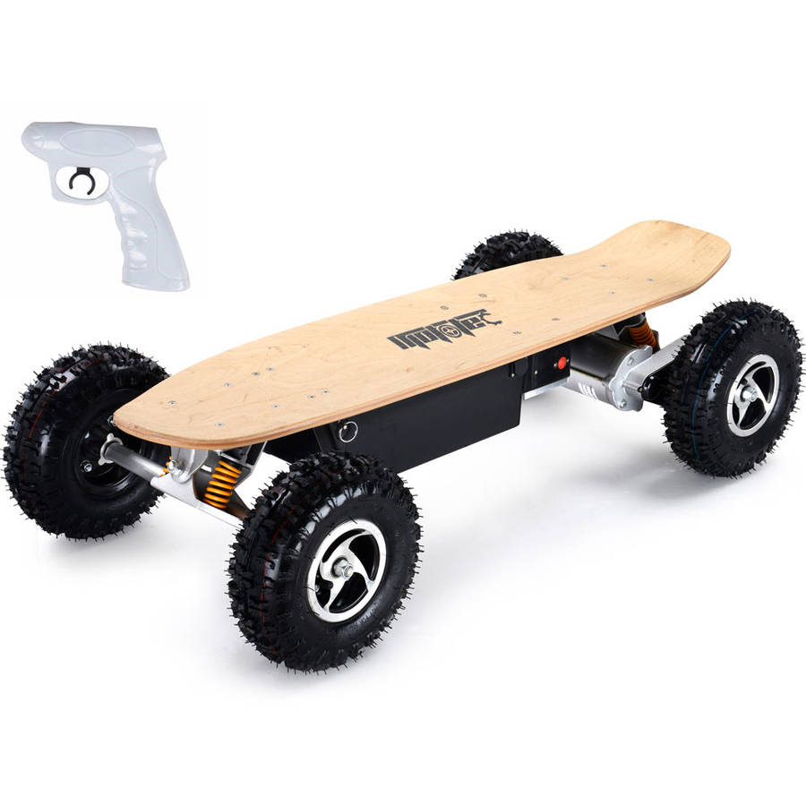 MotoTec 1600W Off Road Electric Skateboard, Dual Motor