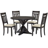 Crosley Hayden 5Pc Round Dining Set - Table, 4 Chairs