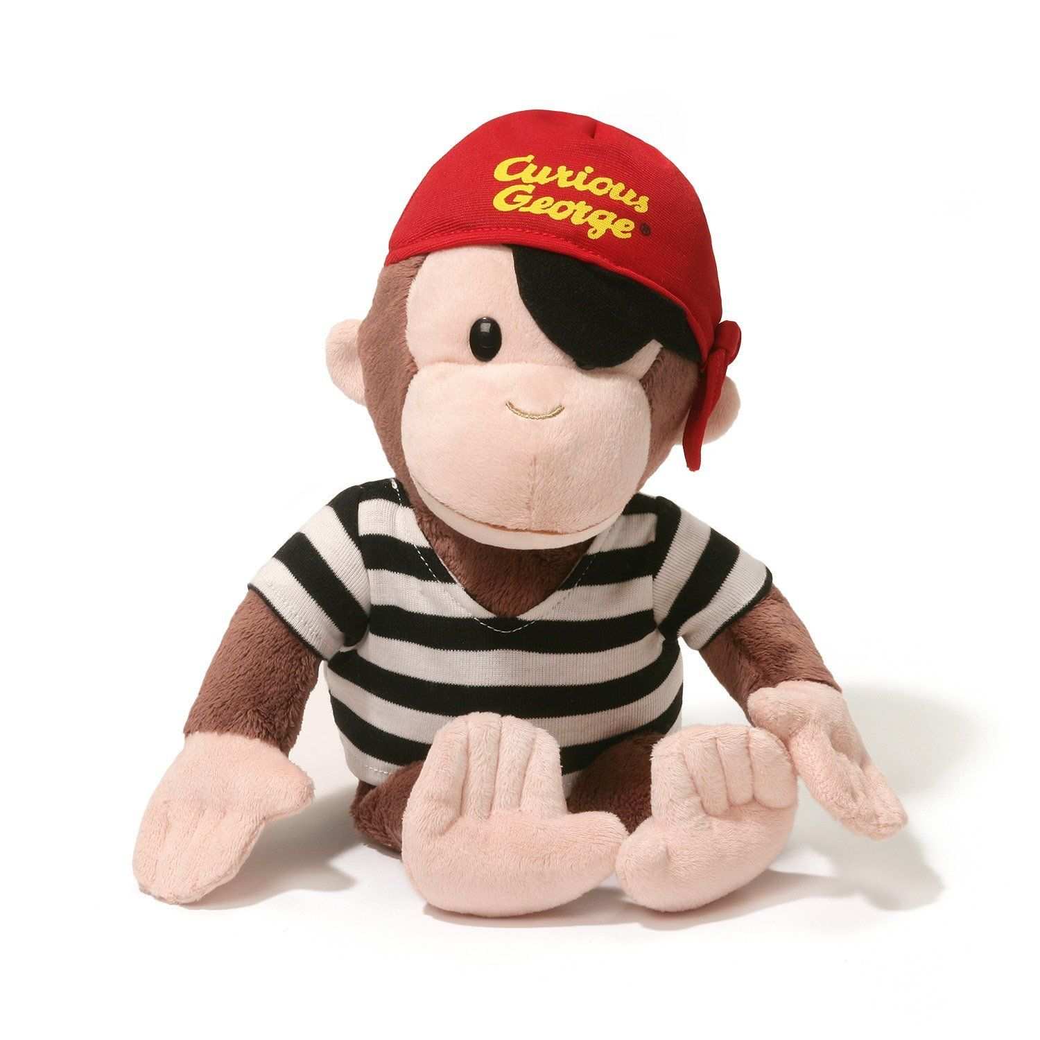 Curious George Pirate 13 inch - Stuffed Animal by GUND (4056998)