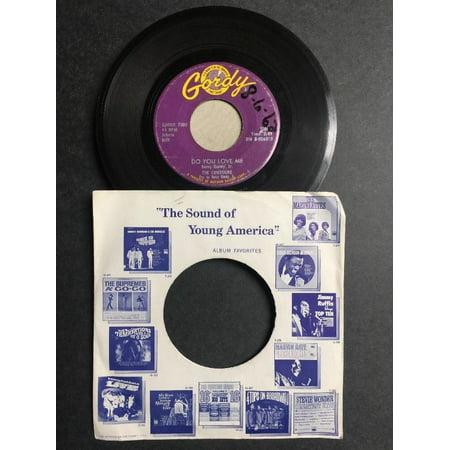- The Contours - Do You Love Me/Move, Mr. Man SINGLE VINYL 1962