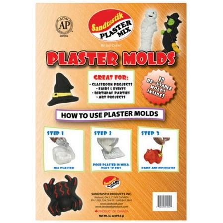 Halloween Themed Cafe (Sandtastik Setmoldhalloween Sandtastik Plaster Molds - Halloween - 18 Character Theme)