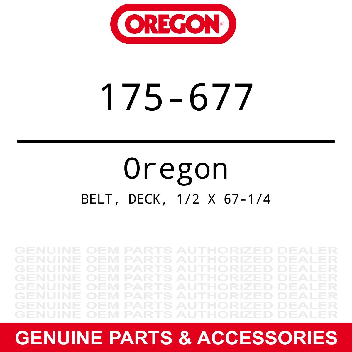 Oregon 175-813 Deck Drive Belt MTD Troy-Bilt Bronco Pony TB42 Yard Tractors