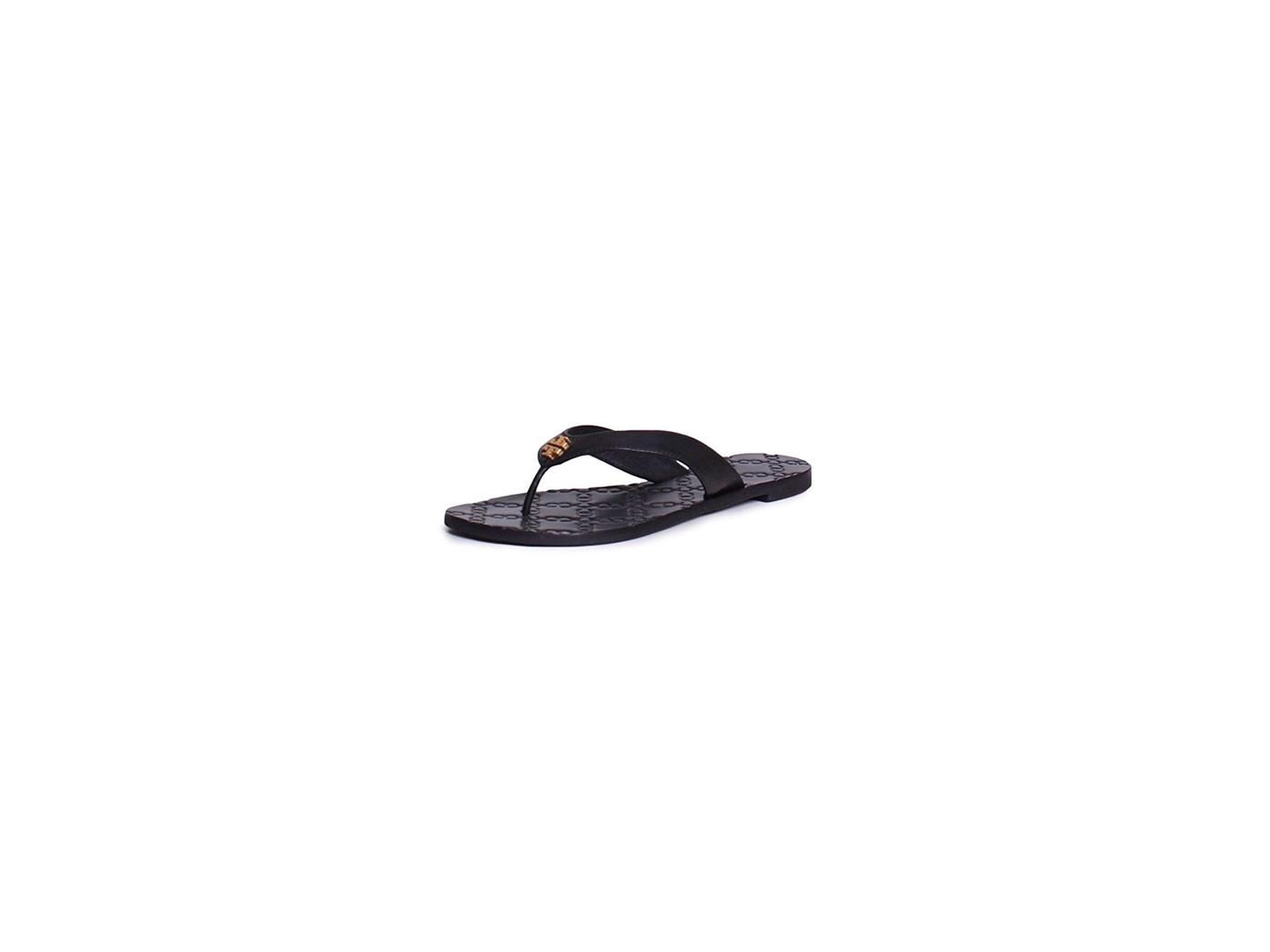 d7efd63dc46 Tory Burch - Tory Burch Monroe Metallic Thong Sandals Flip Flop ...