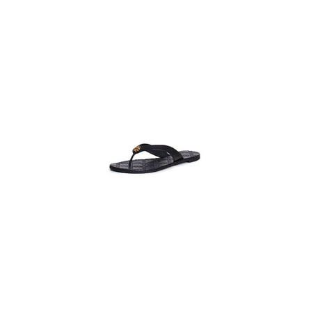 5e03a4d78598 Tory Burch - Tory Burch Monroe Metallic Thong Sandals Flip Flop -  Walmart.com