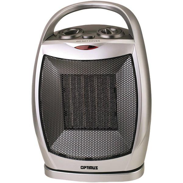 Optimus H 7247 Portable Oscillating Ceramic Heater With
