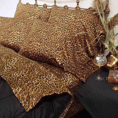 Scent-Sation Wild Life Leopard Bedding Collection