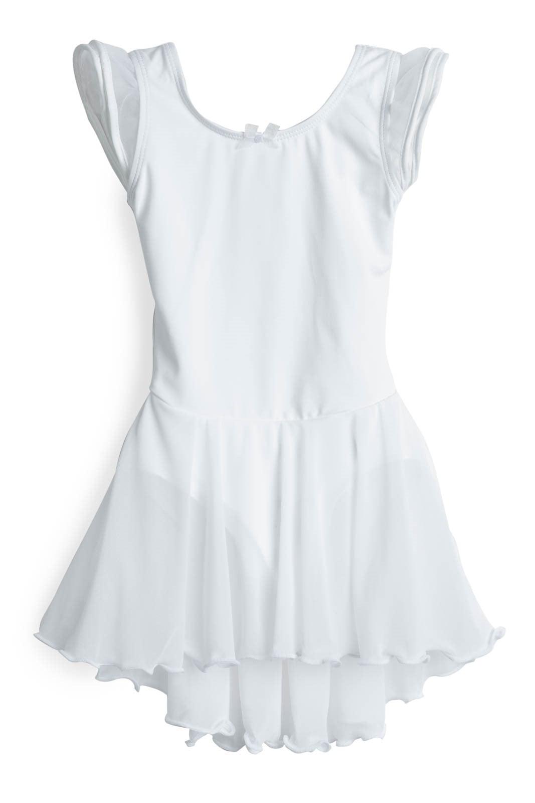 Elowel Kids Girls Basic Short Sleeve Leotard Size 2-14 Years Multiple Colors