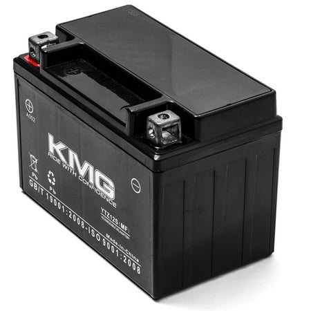 KMG Battery for Honda FSC600 Silver Wing 2002-2012 Replacement Battery YTZ12S Sealed Maintenance Free Battery High Performance 12V SMF OEM Replacement Powersport Motorcycle Scooter - image 2 of 3